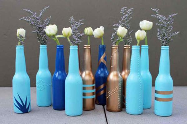 Bottle Bud Vases