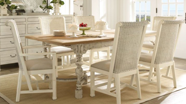 20 Pretty Beach Cottage Furniture for Dining Rooms Home Design Lover