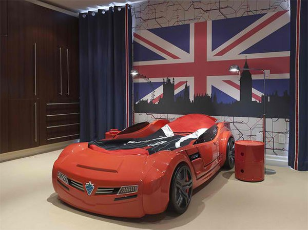 Zoom with Style in 20 Car Themed Bedroom for Your Boys | Home ...