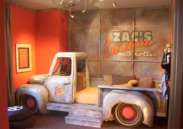 Boys Truck Bedroom. Zoom with Style in 20 Car Themed Bedroom for Your Boys   Home