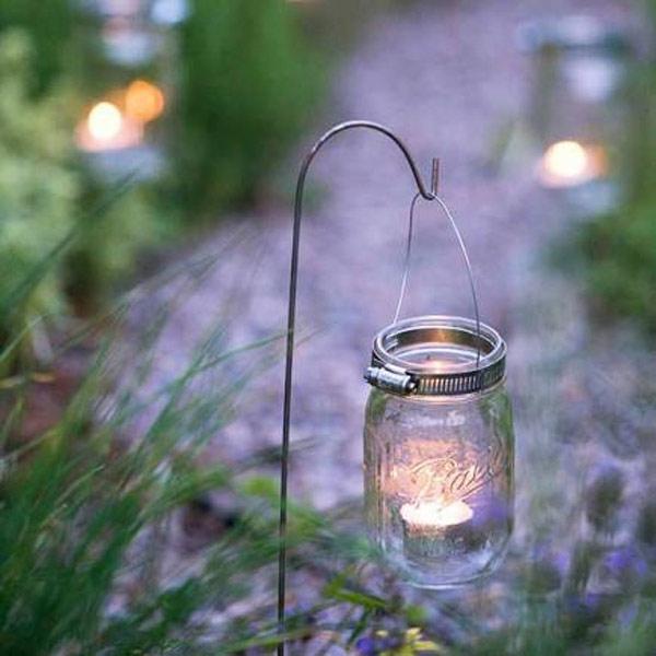 jars tea lights