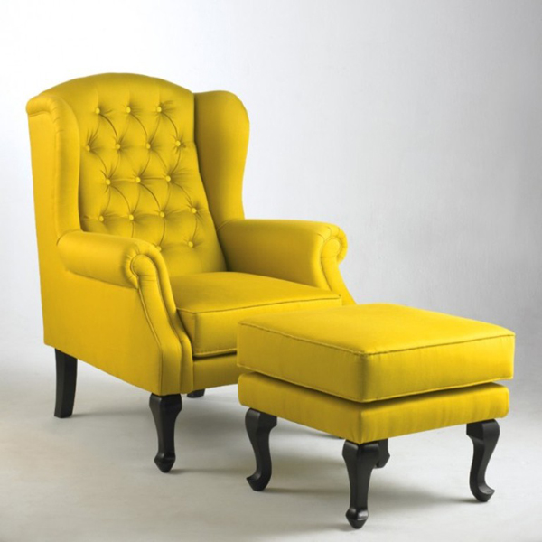 Yellow Living Room Chairs - 20 Fascinating Yellow Living Room Chairs Home Design Lover