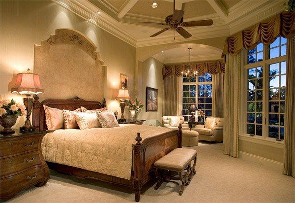 elegant Mediterranean bedroom  Sater Design. 20 Luxurious Design of Mediterranean Bedroom   Home Design Lover