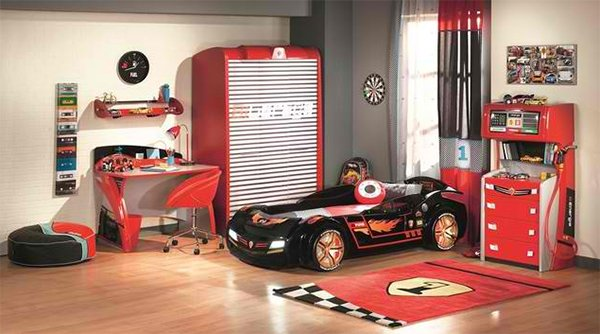 Sleep Collection Kids Car Bedroom  The Collection German Furniture. Zoom with Style in 20 Car Themed Bedroom for Your Boys   Home