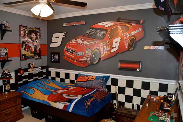 Car Themed Bedrooms | Bedroom and Living Room Image Collections