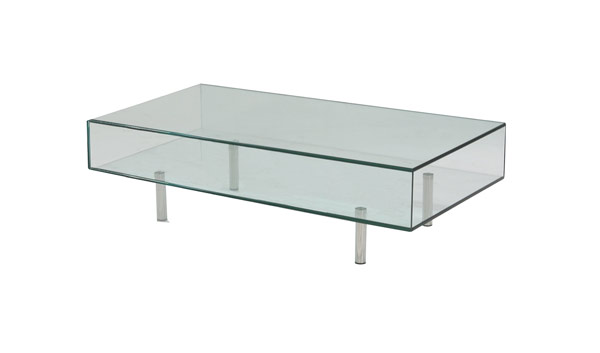 steel base modern glass