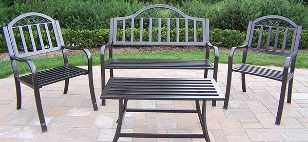 patio metal furniture a