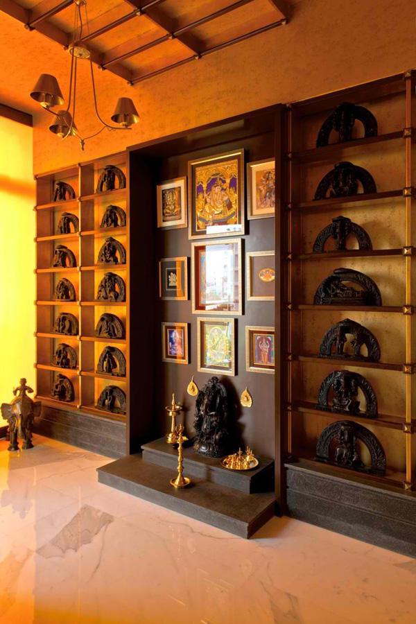 Enthralling Designs Of The Interior In The Sdm Apartment In Mumbai