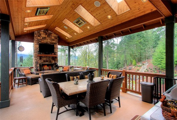 built-in ceiling heaters
