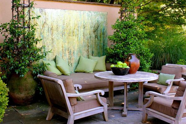 20 Wonderful Outdoor Garden Furniture Ideas in WoodHome Design