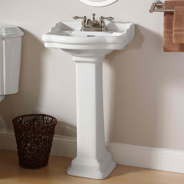 Standford - 20 Fascinating Bathroom Pedestal Sinks Home Design Lover
