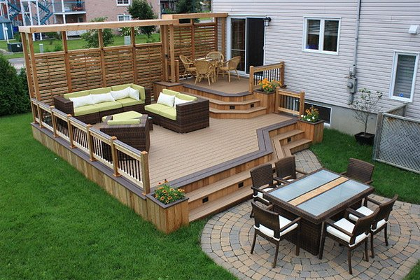 Timber Decking Designs