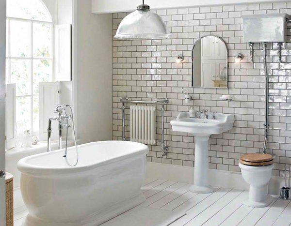 Cloakroom - 20 Fascinating Bathroom Pedestal Sinks Home Design Lover