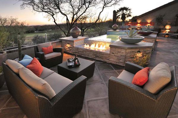 20 Comfortable Outdoor Garden Furniture Ideas in Rattan  Home