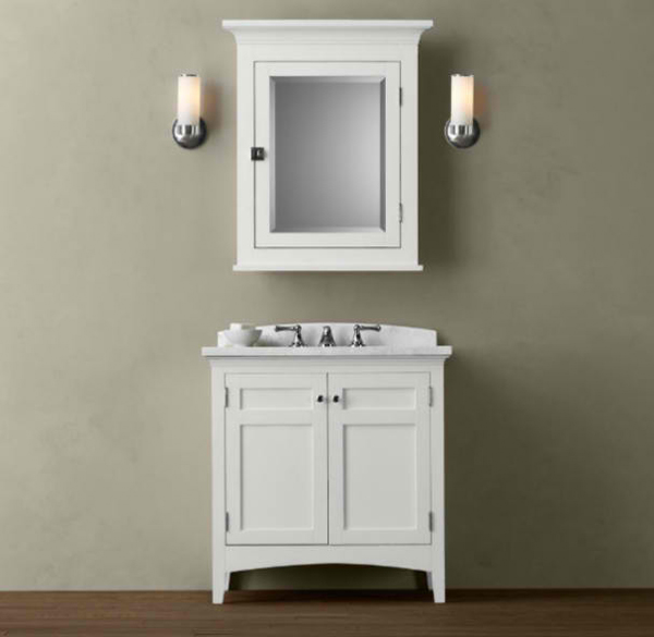 20 Worth-it White Single Bathroom Vanity For Your Home | Home ...