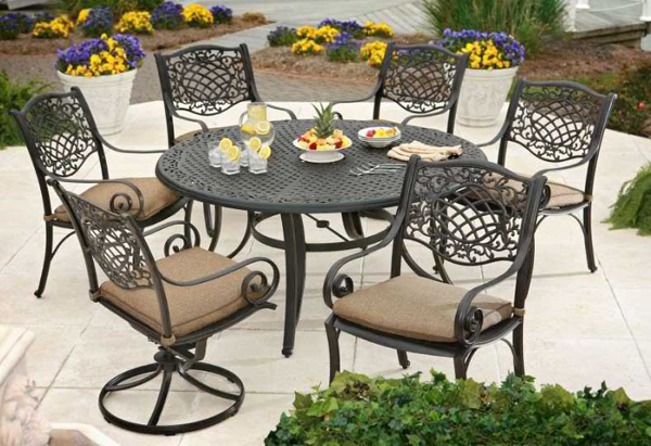 20 Fun and Functional Metal Outdoor Furniture Home Design Lover