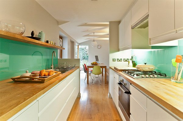 mint green - Intensify The Look Of Your Kitchen With 20 Glass Back Painted