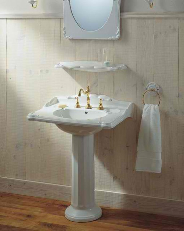Herbeau - 20 Fascinating Bathroom Pedestal Sinks Home Design Lover