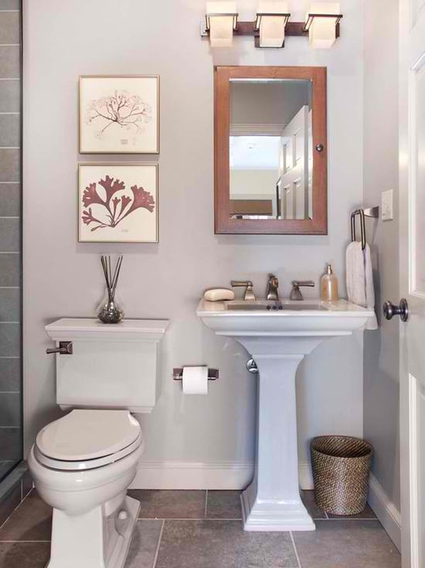 awesome pedestal sink bathroom ideas nice ideas