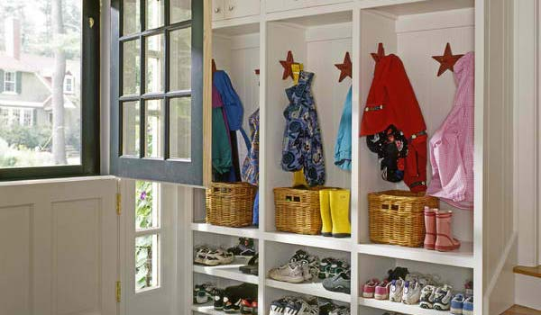 Turn it into a mudroom