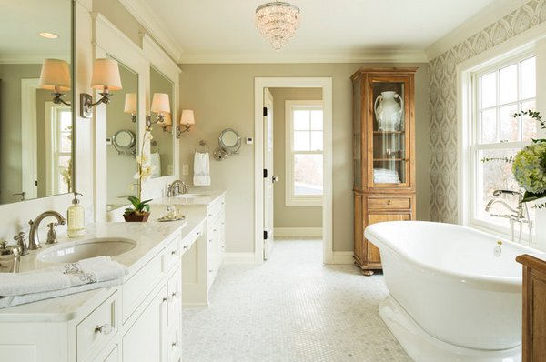 beautiful farmhouse style bathrooms  home design lover,