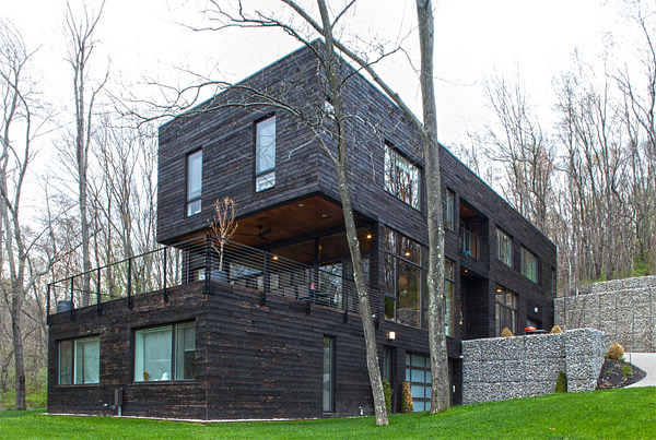 Gino and Mali Torriero. Torriero Home in Pennsylvania Shows a Warm Modernism   Home Design