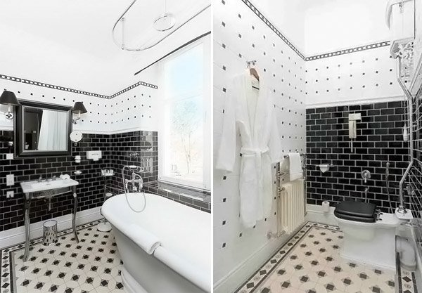 Cute Cleaning Bathroom With Bleach And Water Thin 3d Floor Tiles For Bathroom India Shaped Build Your Own Bathroom Vanity Apartment Bathroom Renovation Young Bath Room Floor OrangeBathroom Vainities 20 Beautiful Bathrooms Using Subway Tiles | Home Design Lover