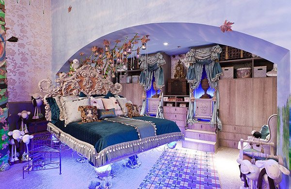 Brave Inspired Bedroom  20 Princess Themed Bedrooms Every Girl Dreams Of  Home Design Lover. Royal Princess Bedroom