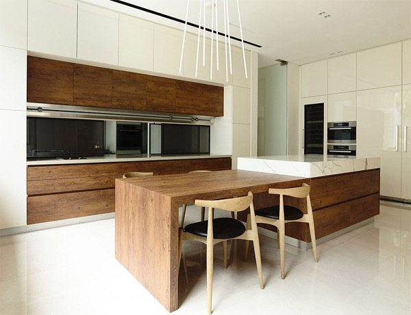 Kitchen Island With Dining Table Attached kitchen island with table attached | interior home design inside