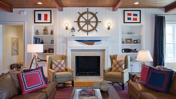 nautical living room decorations - 20 Nautical Home Decorations In The Living Room Home Design Lover