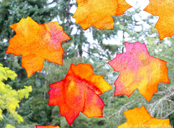 Fall Window Art