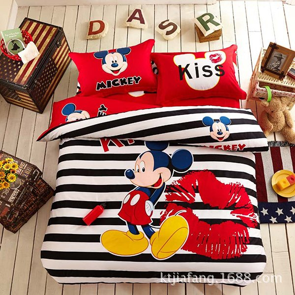 3D Mickey Bedding Set. 20 Invigorating Mickey and Minnie Bedding Sets   Home Design Lover