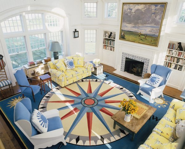 20 Nautical Home Decorations In The Living Room Home Design Lover