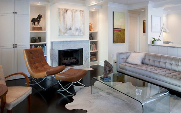 Cowhide Rug Decorating Ideas