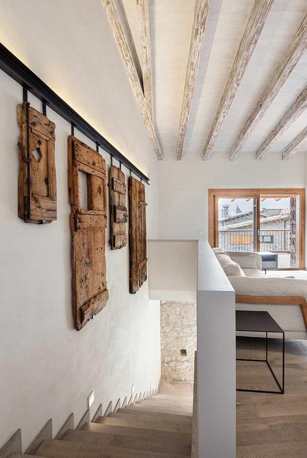 Wooden art works