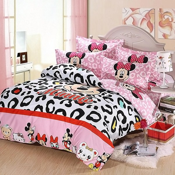 Mickey and Minnie Mouse King Queen Bedding Set. 20 Invigorating Mickey and Minnie Bedding Sets   Home Design Lover