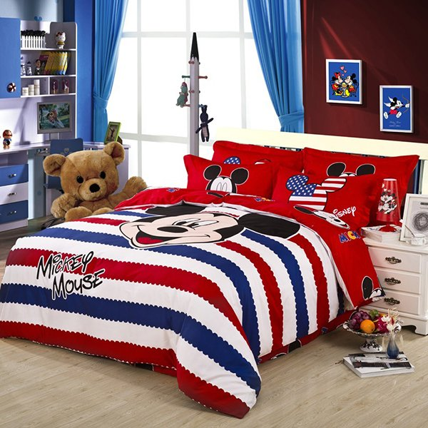 20 Invigorating Mickey and Minnie Bedding Sets | Home Design Lover