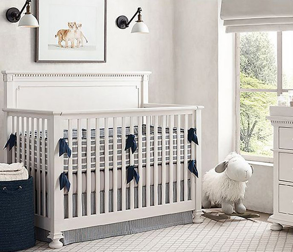 Blue And White Boy Room