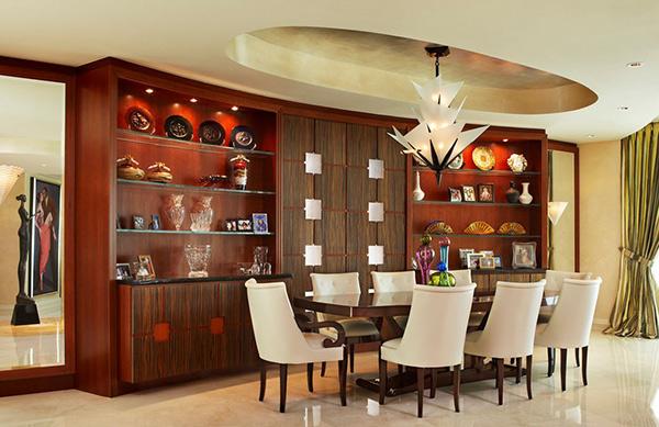 20 Awe-Inspiring Art Deco Dining Room Designs | Home Design Lover