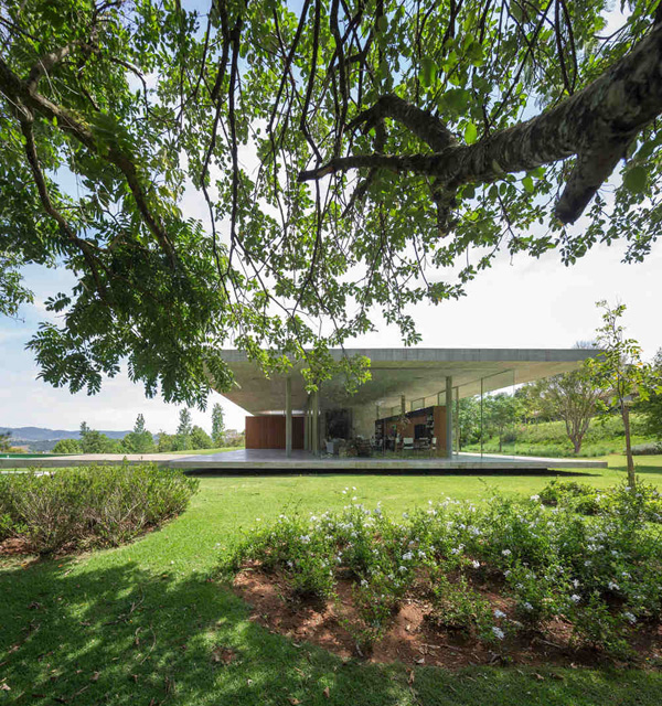 Luxurious house views