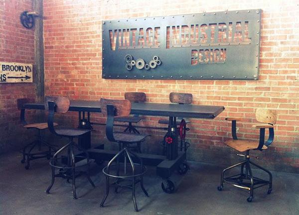 20 No Nonsense Industrial Dining Room DesignsHome Design Lover