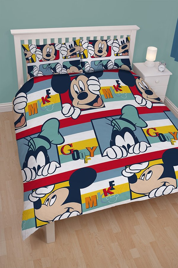 mickey bed sheets. 20 Invigorating Mickey and Minnie Bedding Sets   Home Design Lover