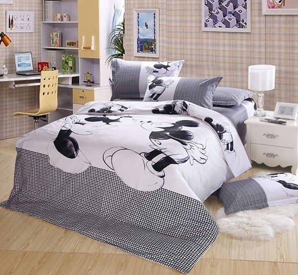Bedding Mickey Minnie Mouse Set. 20 Invigorating Mickey and Minnie Bedding Sets   Home Design Lover