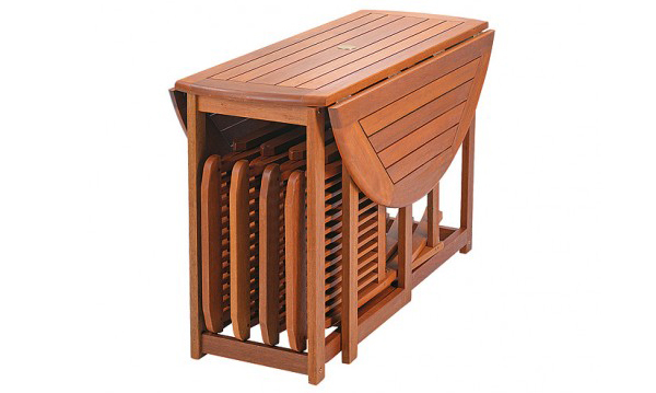 20 Space Saving Folding Table and Chairs | Home Design Lover