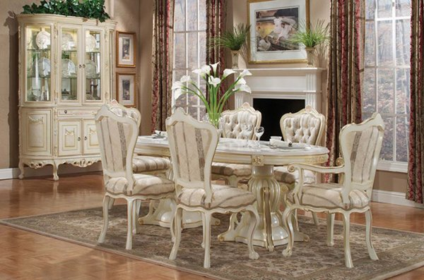 20 Elegant Designs of Victorian Dining Rooms – Victorian Dining Room Chairs