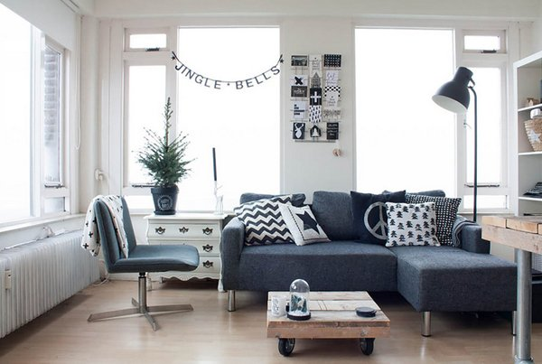 compact sectional