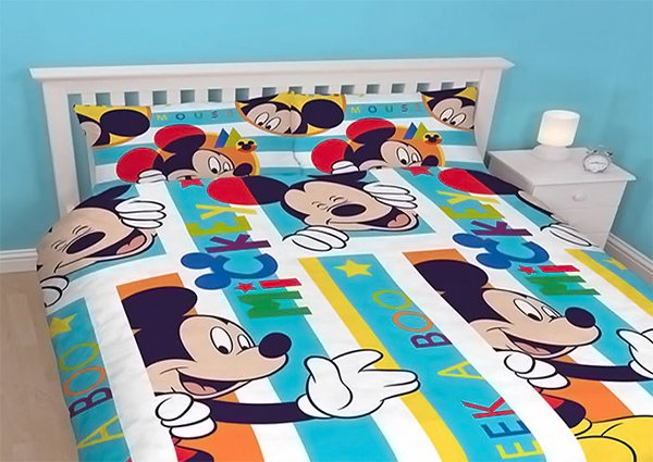 Mickey Mouse Double Duvet   Boo. 20 Invigorating Mickey and Minnie Bedding Sets   Home Design Lover