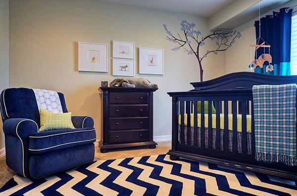 High-Style Nursery For Boys