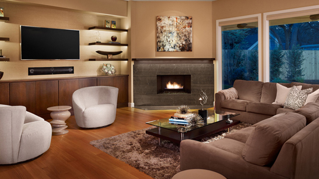 20 Beautiful Living Room Layout with Two Focal PointsHome