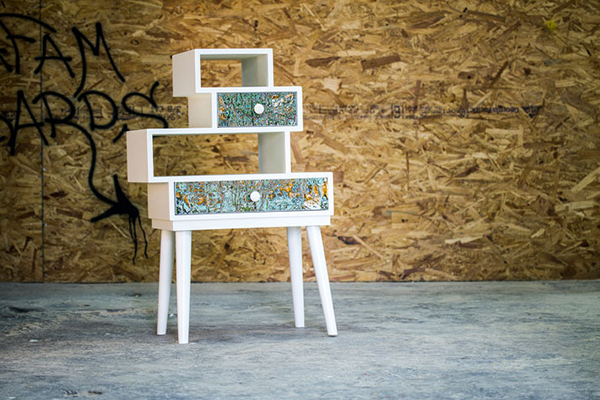 abstract cabinet design